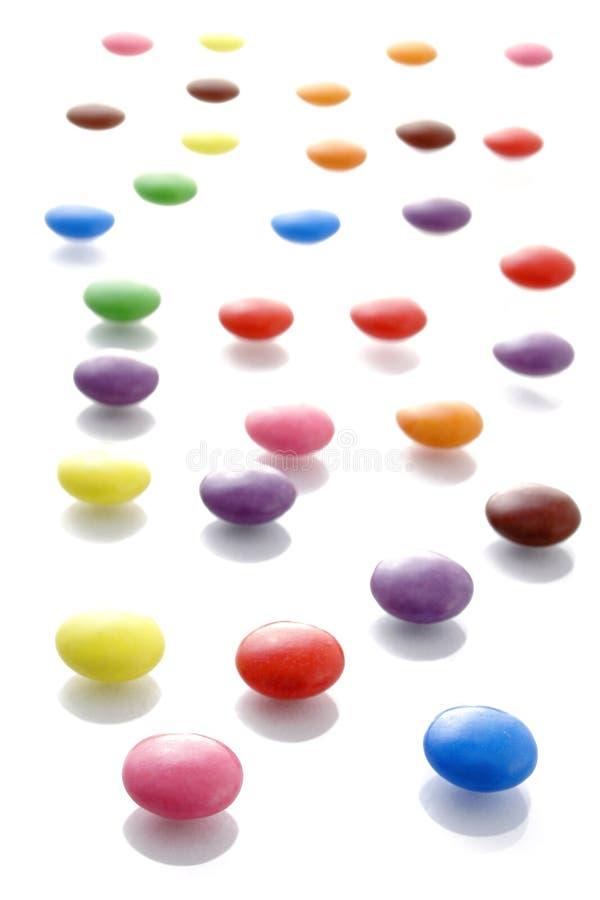 Het Patroon van de Vlek van het suikergoed stock afbeeldingen