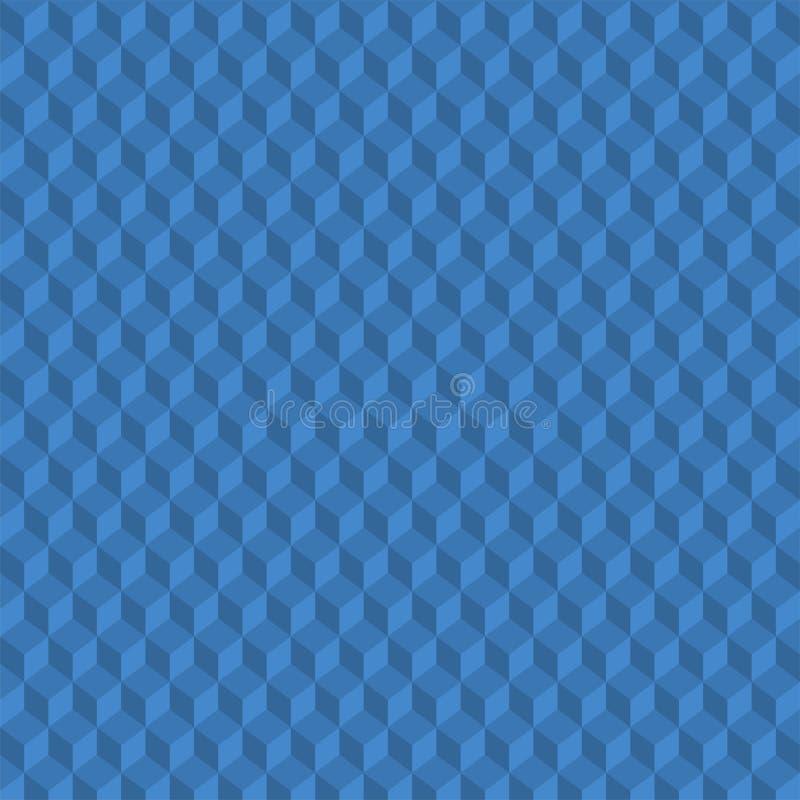 Het patroon van dozen vector illustratie