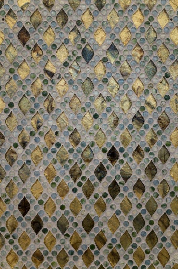 Het Patroon van het glasmozaïek royalty-vrije stock fotografie