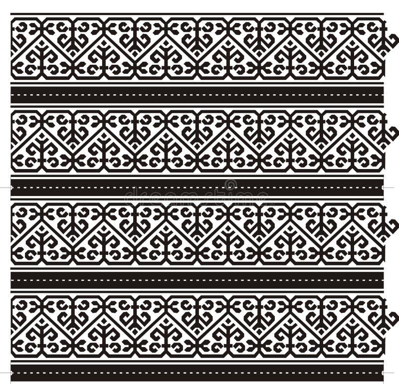 Het patroon van het GRAFIEKENpatroon stock afbeeldingen