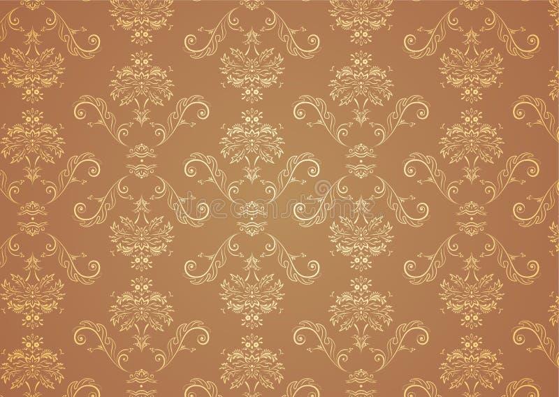 Het Patroon van het behang stock illustratie