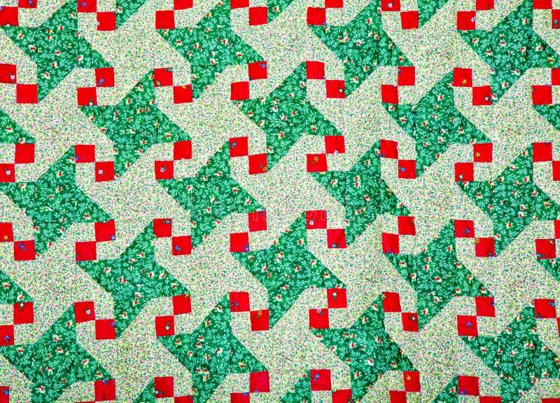 Het Patroon van het dekbed. stock fotografie