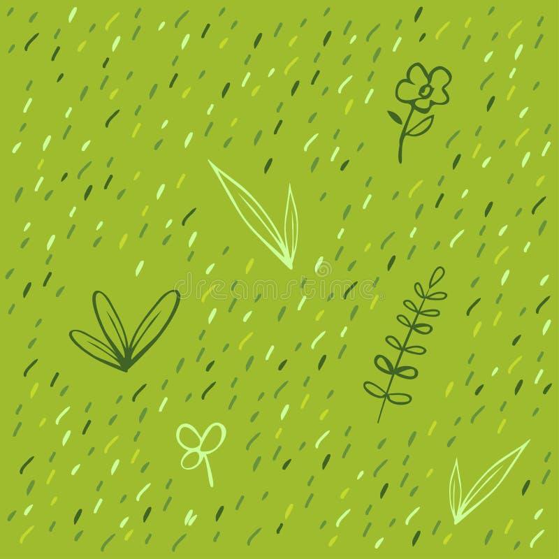 Het patroon van het gras