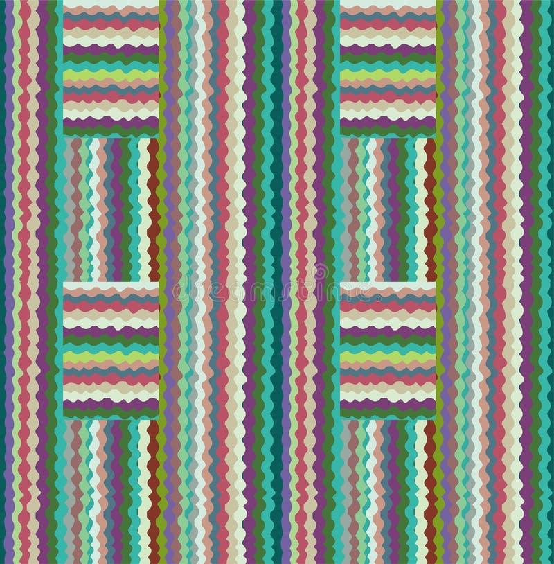Download Het Patroon Van Het Grensontwerp Vector Illustratie - Illustratie bestaande uit herhaal, knitting: 10778890