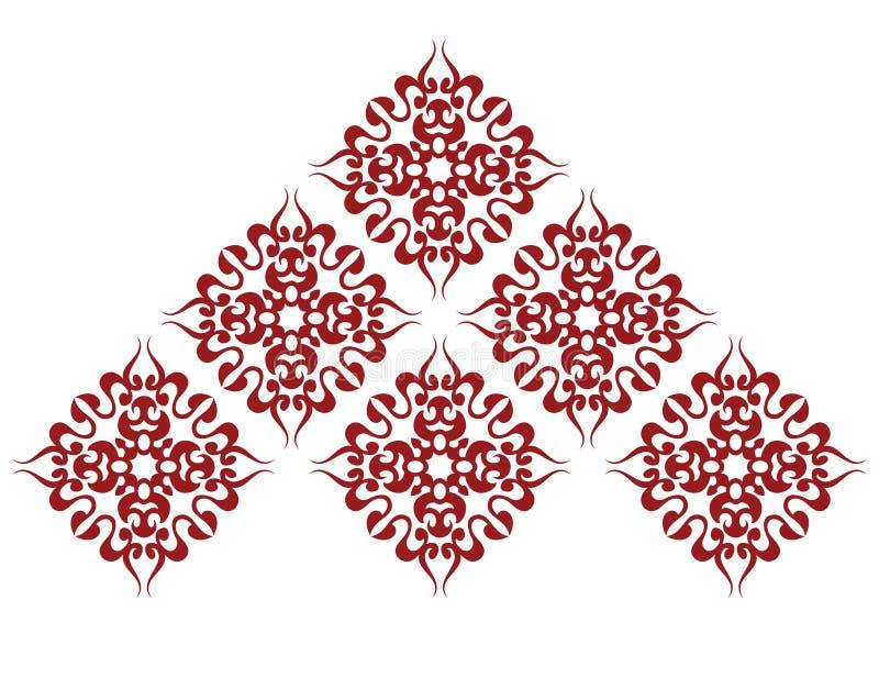Het patroon van het mozaïek