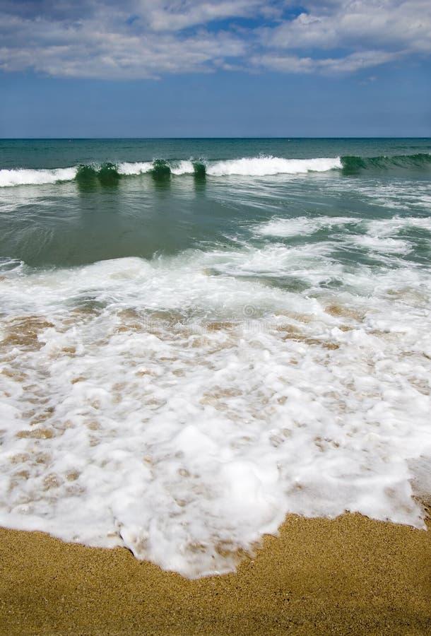 Het patroon van het strand stock foto's