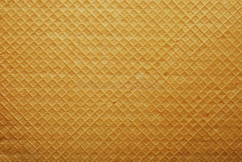 Het patroon van het wafeltje stock fotografie
