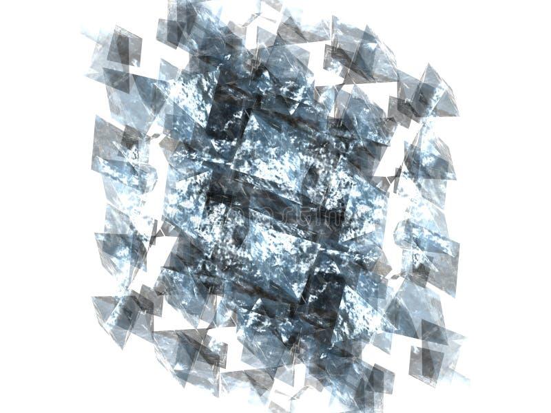 Het patroon van het water vector illustratie