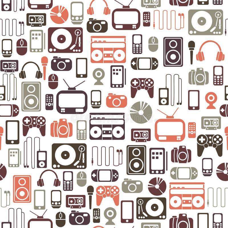 Het patroon van media vector illustratie