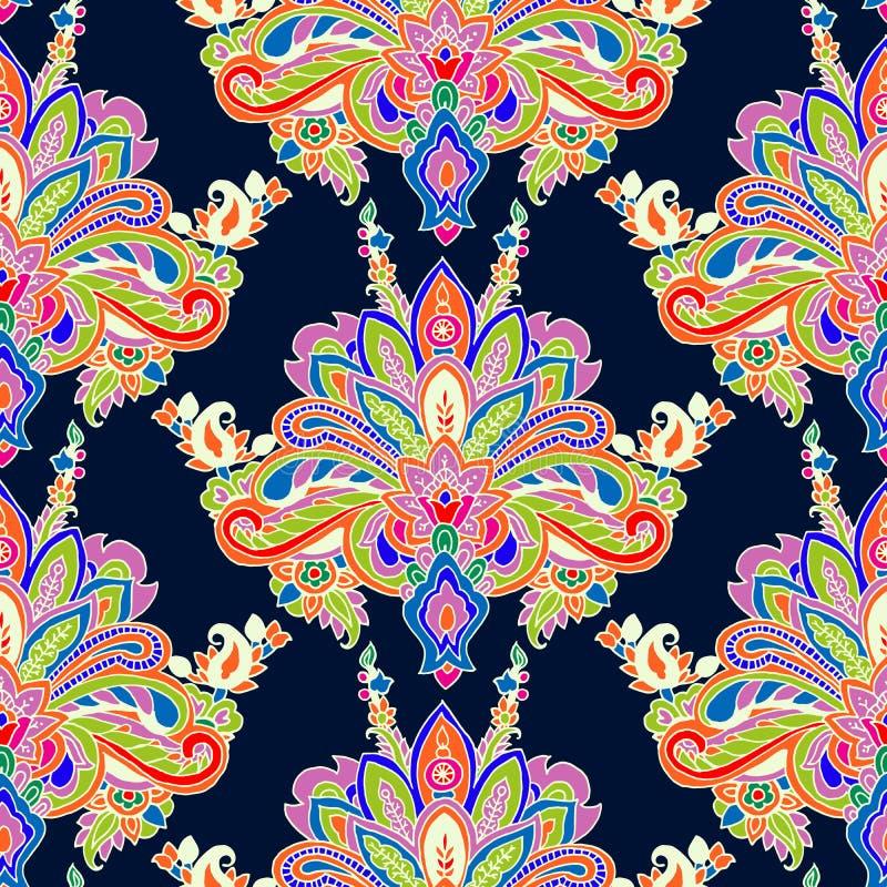 Het patroon van Paisley vector illustratie