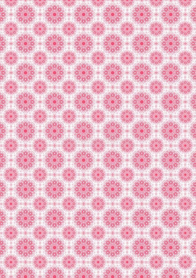 Het patroon van roze sterren royalty-vrije stock foto