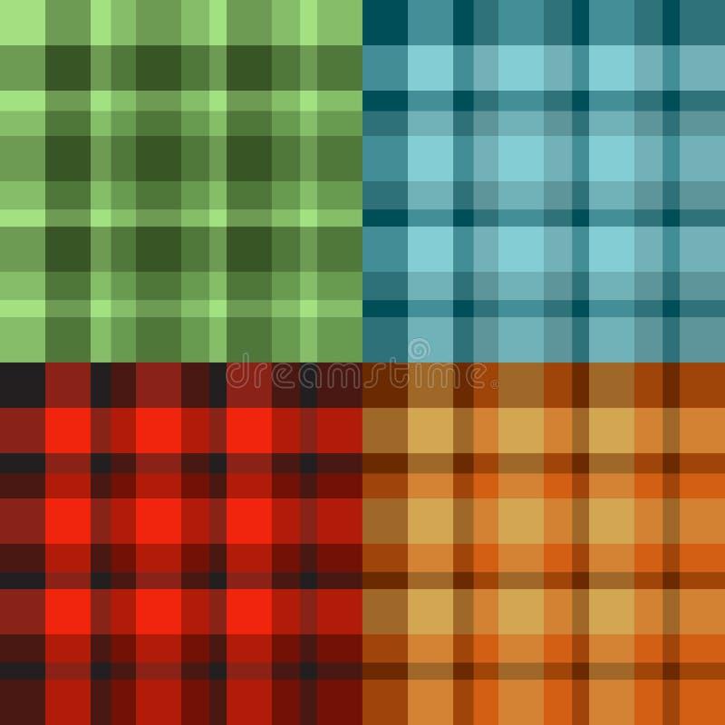 Het patroon van Schotland stock illustratie
