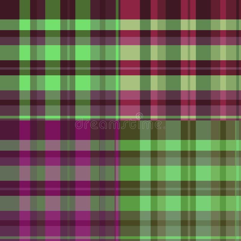 Het patroon van Schotland vector illustratie