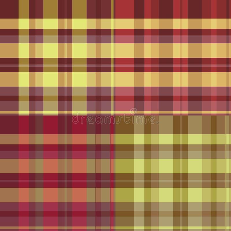 Het patroon van Schotland royalty-vrije illustratie