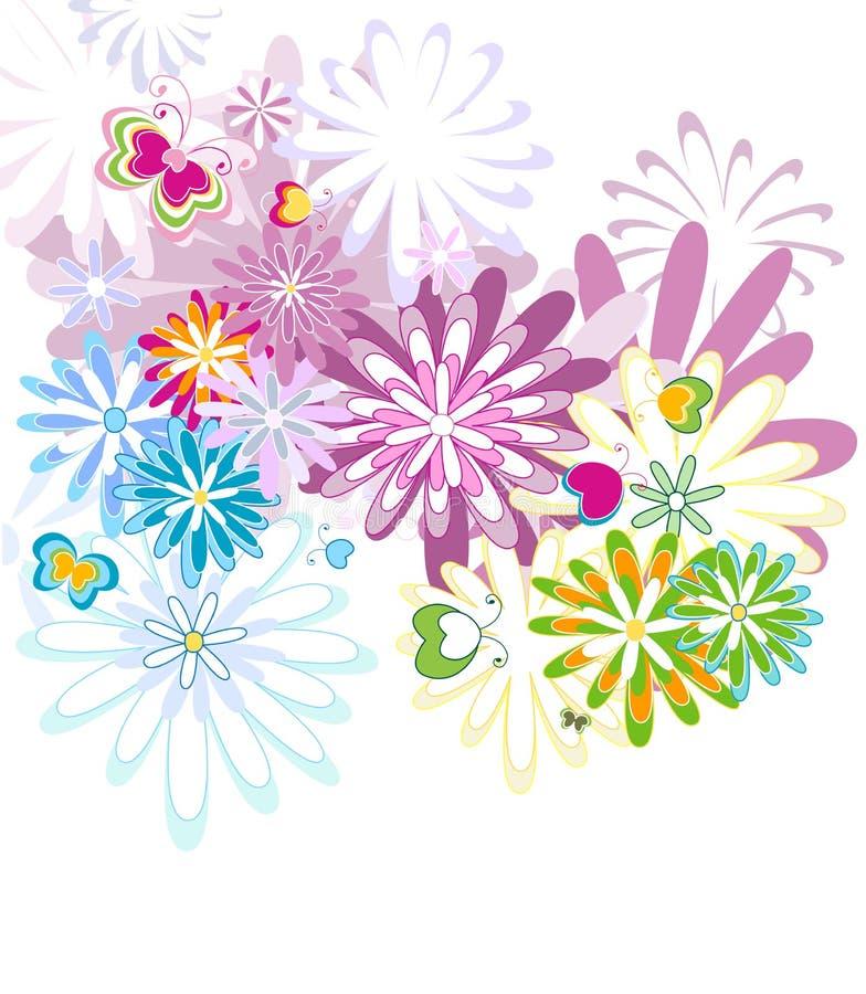 Het patroon van Seamlles vector illustratie