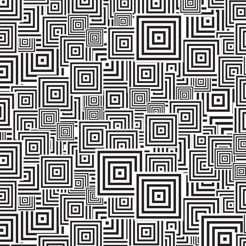 Het patroon van Squre royalty-vrije illustratie
