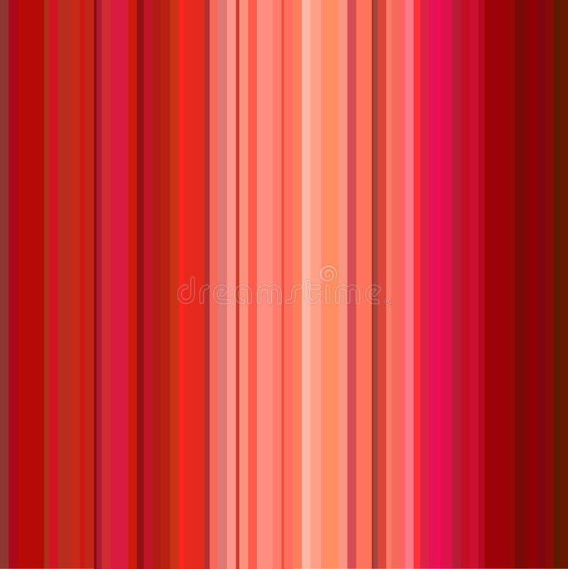 Het patroon van strepen stock illustratie