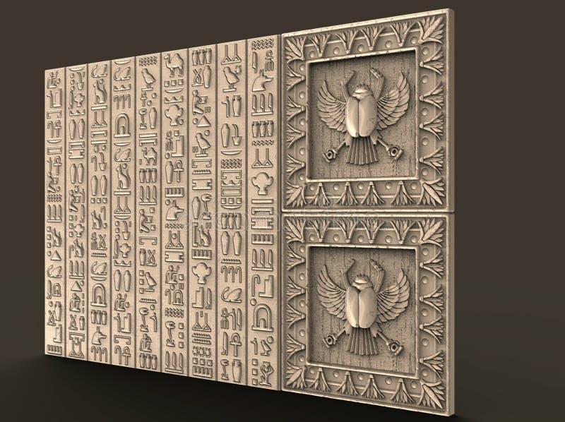 Het patroon voor de verwoording, embleem, embleem, zaken, amulet, voorspelling, toekomstige, 3d modellen, inspiratie, decoratie,  vector illustratie