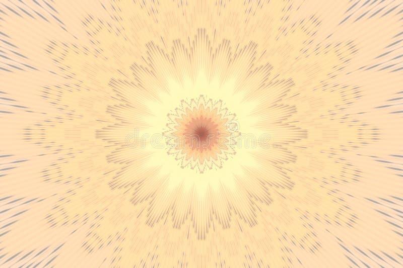 Het patroon zachte bloemen van de pastelkleurbloem Samenvatting stock illustratie