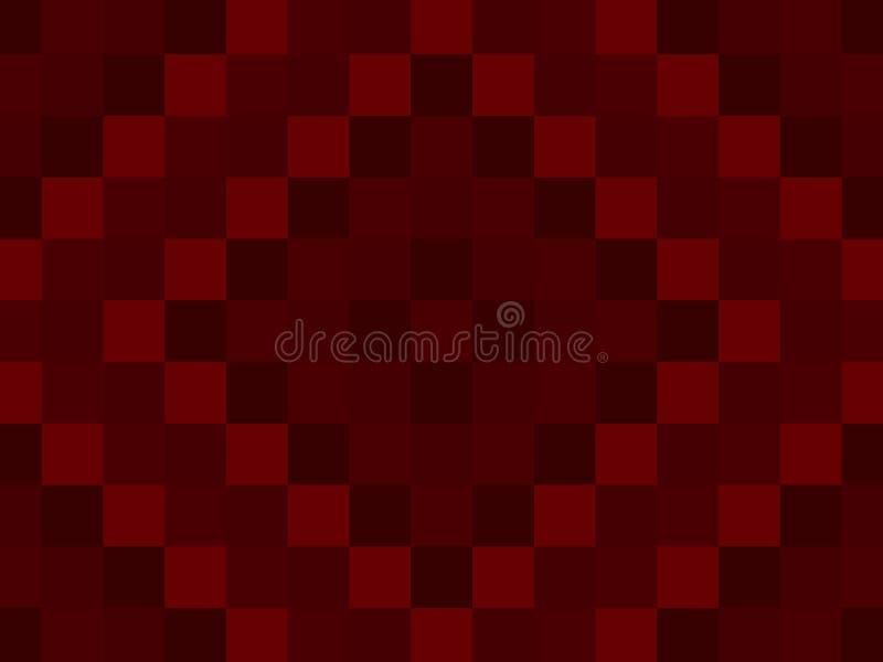 Het Patroonachtergrond van het bloed Rode Dekbed die voor Sh Dia Perfect is stock illustratie