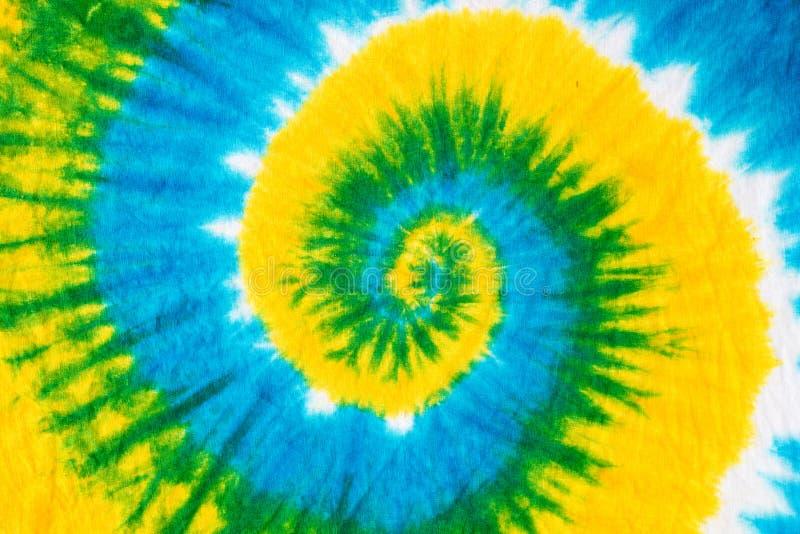 het patroonachtergrond van de bandkleurstof stock foto