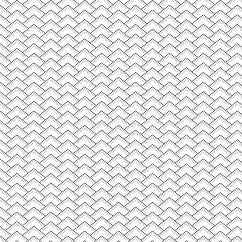 Het patroonachtergrond van de drie lijnendriehoek stock foto's