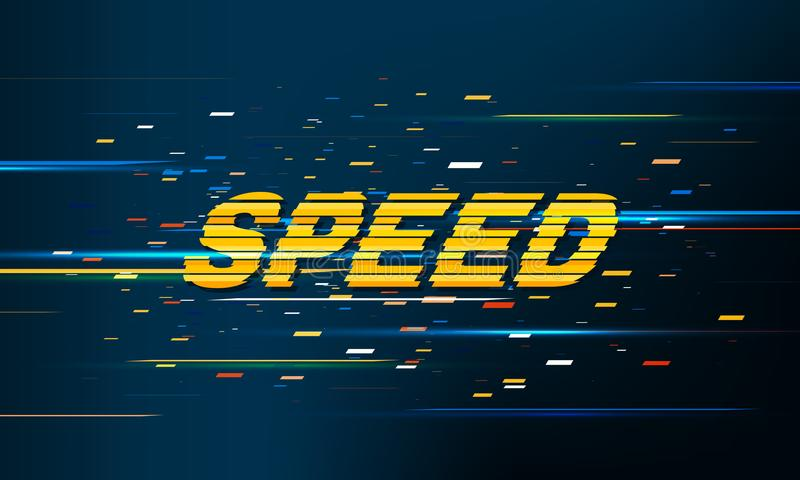 Het Patroonachtergrond van de snelheidsbeweging vector illustratie