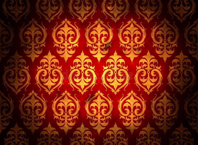 Het patroonachtergrond van Grunge stock fotografie