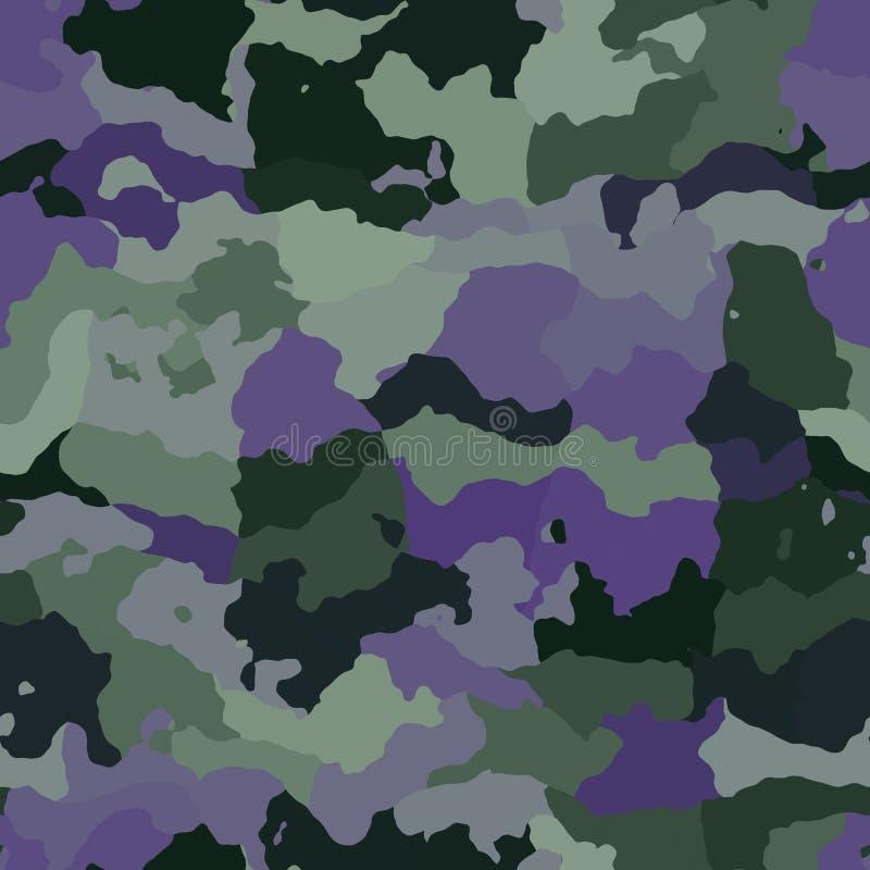 Het patroontextuur van de camouflage vector illustratie