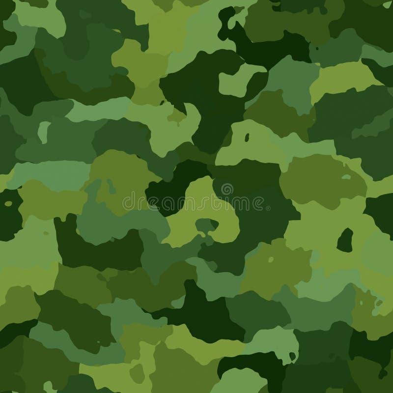 Het patroontextuur van de camouflage stock illustratie
