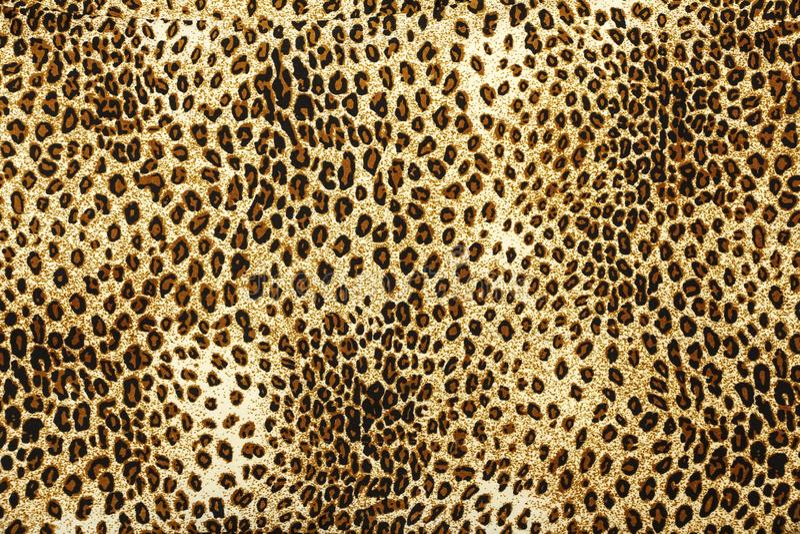 Het patroontextuur van de luipaardhuid De textuurachtergrond van Eopard Dierlijke druk De textuur van het luipaardbont royalty-vrije stock afbeeldingen
