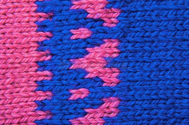 Het patroontextuur van de wol stock afbeeldingen