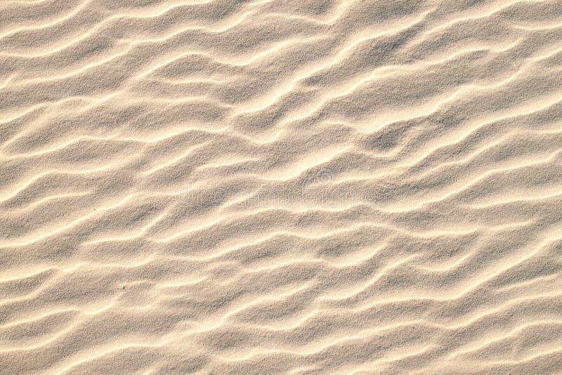 Het patroontextuur van het zand stock fotografie