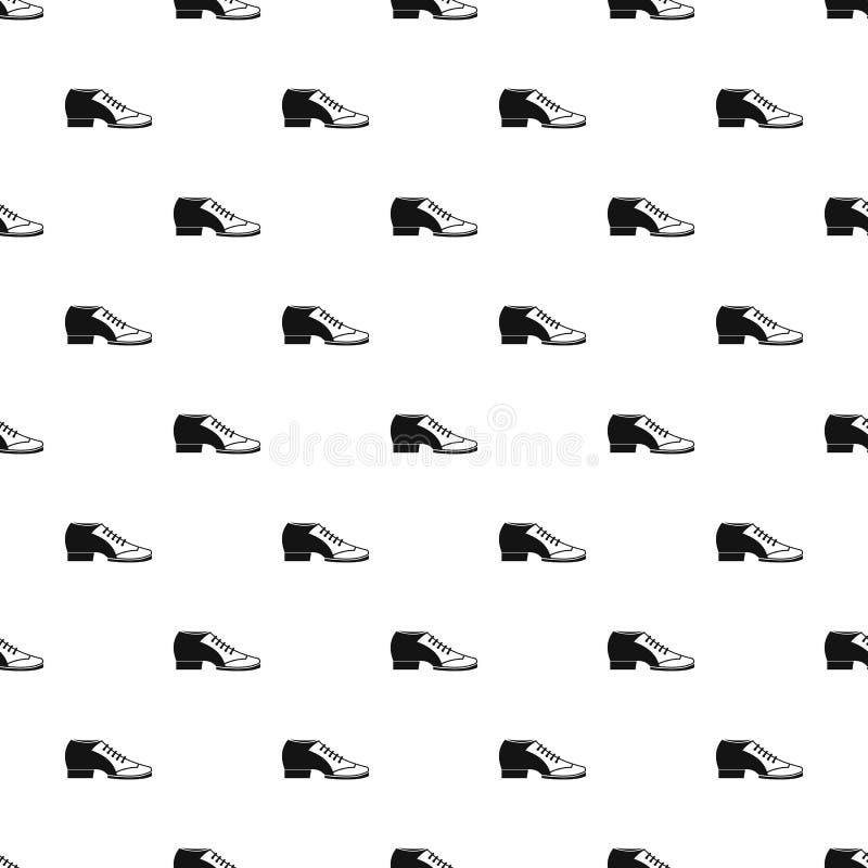 Het patroonvector van de tangoschoen stock illustratie