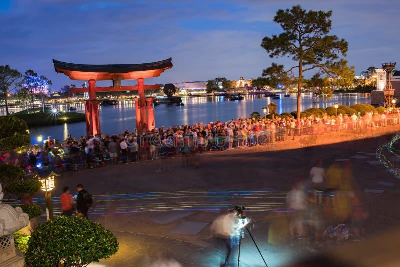 Het Paviljoen van Japan in Epcot royalty-vrije stock afbeeldingen