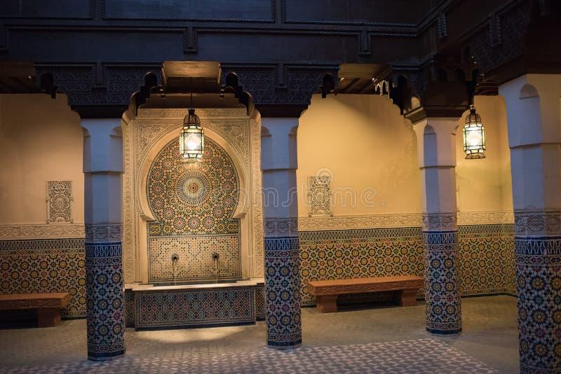 Het Paviljoen van Marokko in Epcot royalty-vrije stock foto