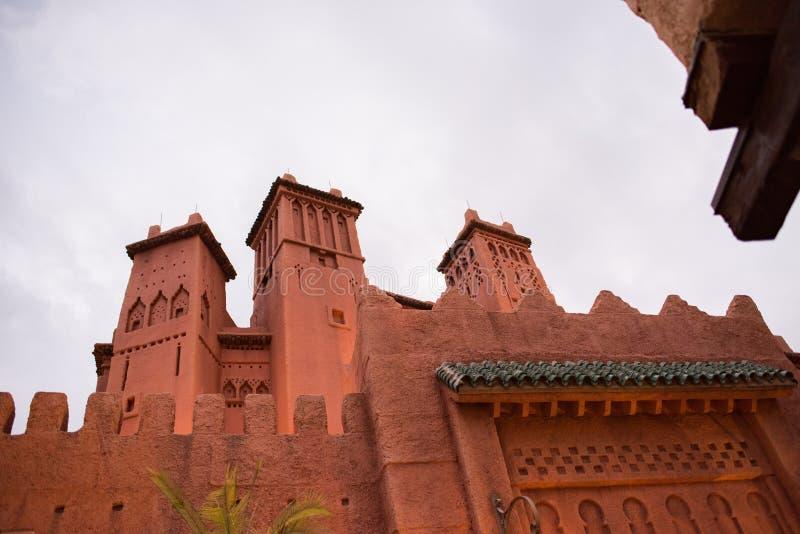 Het Paviljoen van Marokko in Epcot stock foto