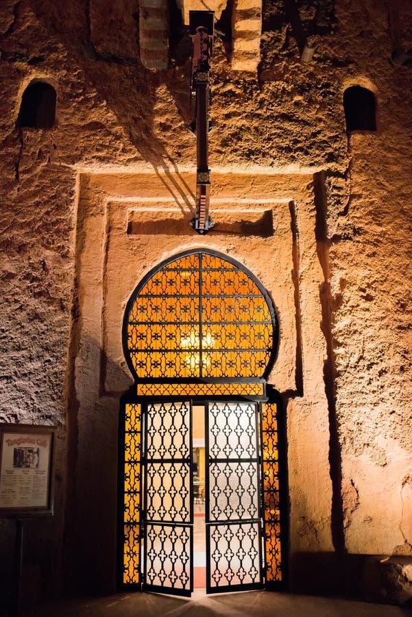 Het Paviljoen van Marokko in Epcot stock foto's