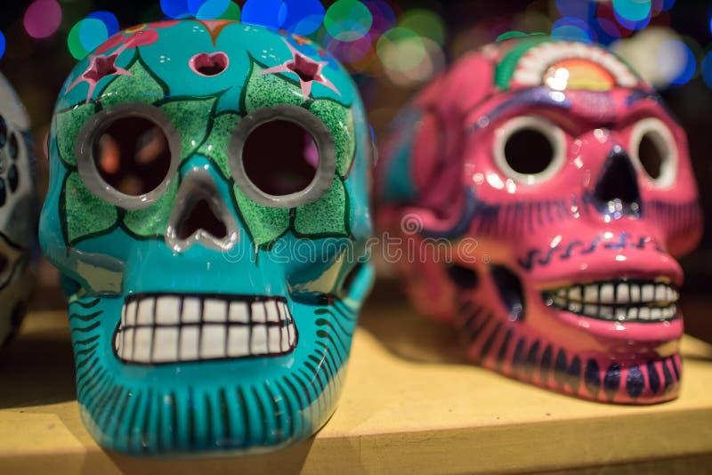 Het Paviljoen van Mexico in Epcot stock afbeeldingen