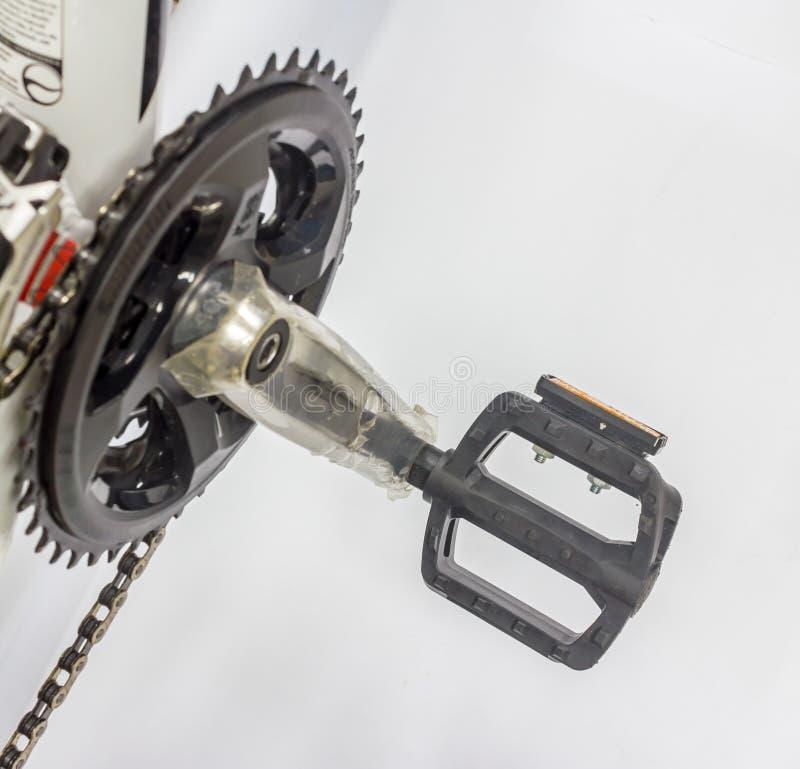 Het pedaal van de fiets royalty-vrije stock afbeeldingen