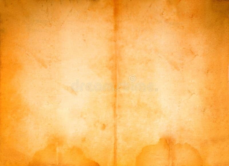 Het perkament van Grunge royalty-vrije stock foto
