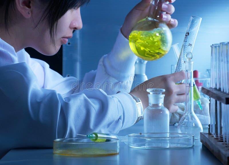 Het Personeel van het laboratorium stock afbeeldingen