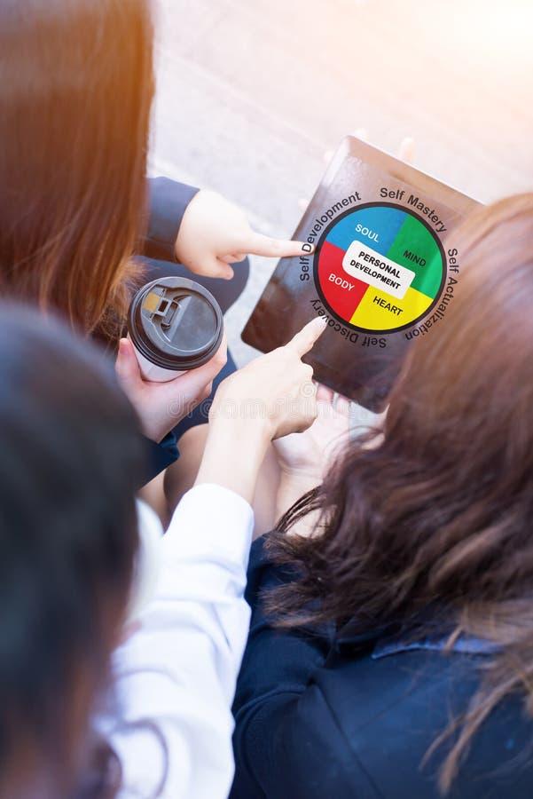 Het persoonlijke Concept van de ontwikkelingsvaardigheid stock foto's
