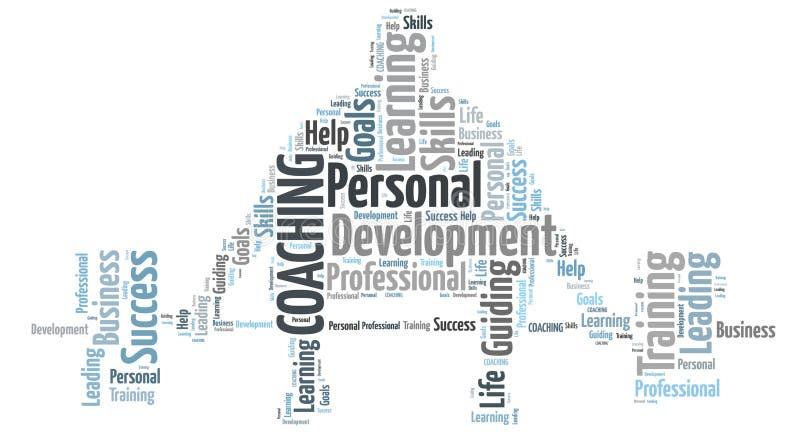 Het persoonlijke trainen vector illustratie
