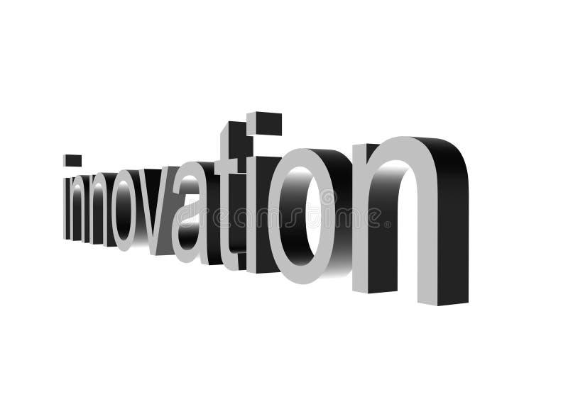 Het perspectief van de innovatie op wit royalty-vrije illustratie