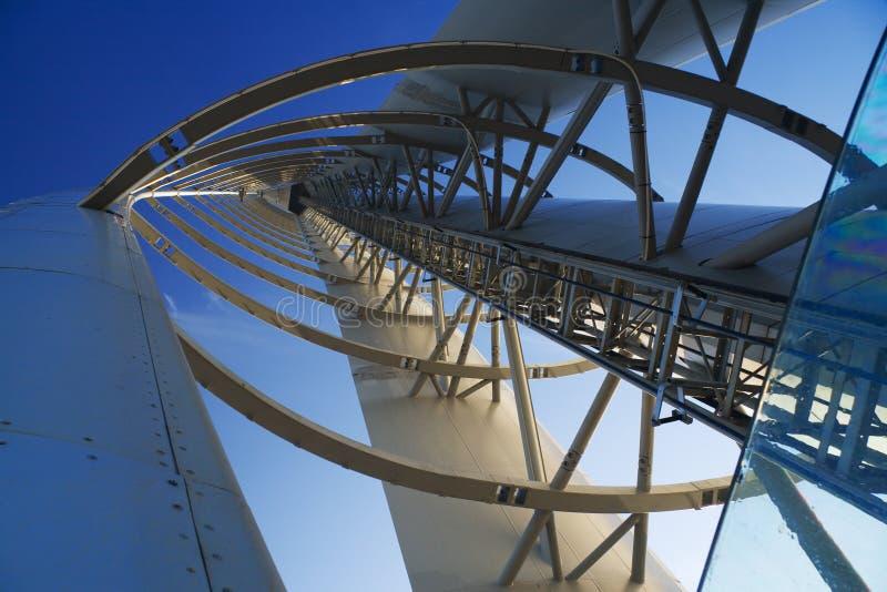 Het perspectief van de toren stock fotografie