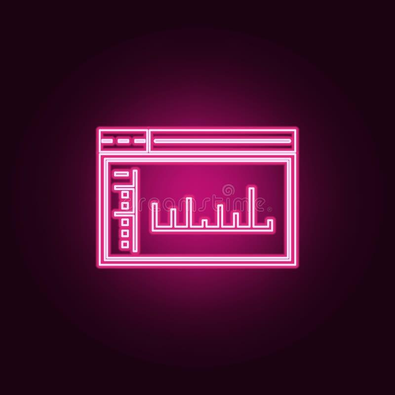 het pictogram van het admincontrolebord E Eenvoudig pictogram voor websites, Webontwerp, mobiele toepassing, informatie stock illustratie
