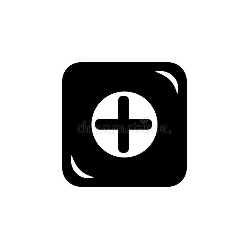 het pictogram van het apotheekteken Element van eenvoudig pictogram voor websites, Webontwerp, mobiele app, informatiegrafiek Tek vector illustratie