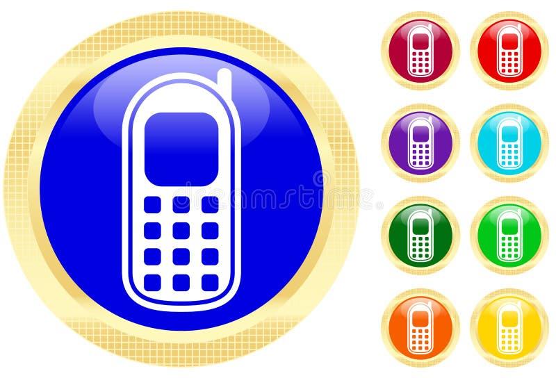 Het pictogram van Cellphone stock illustratie