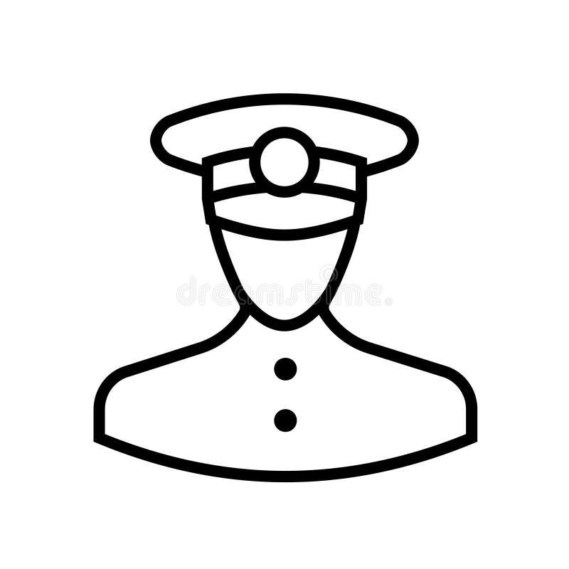 Het pictogram van het controleuroverzicht vector illustratie